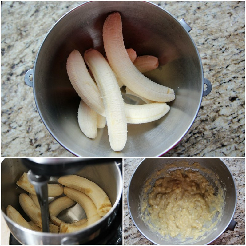 Mash Bananas With Your Stand Mixer