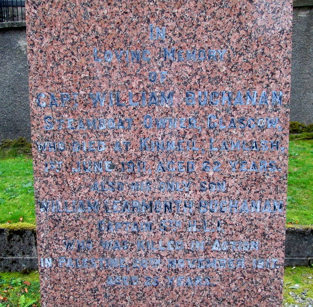 Gravestone, West Bridgend Church