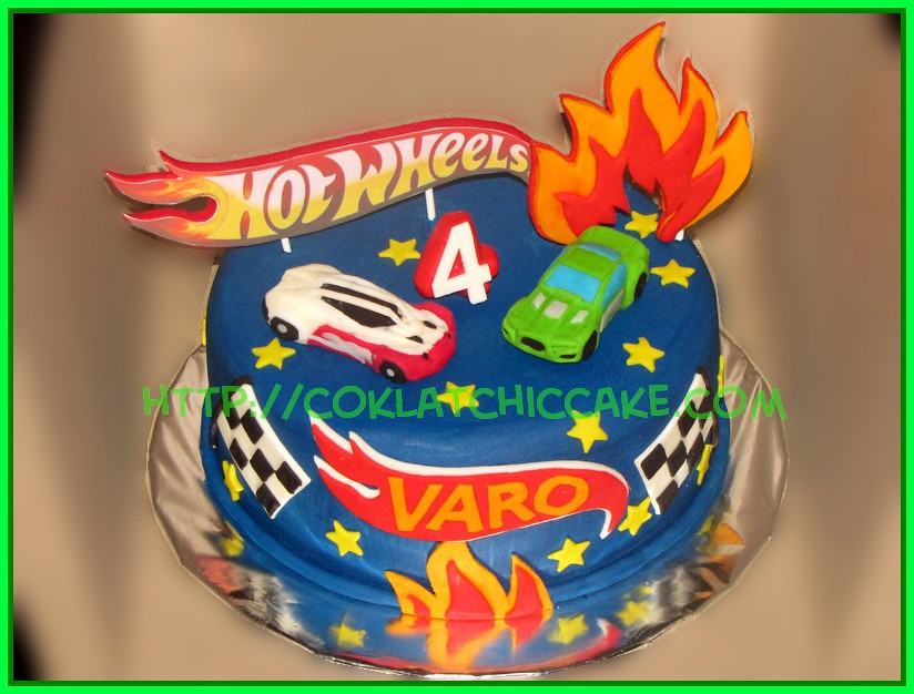 Cake Hot Wheels