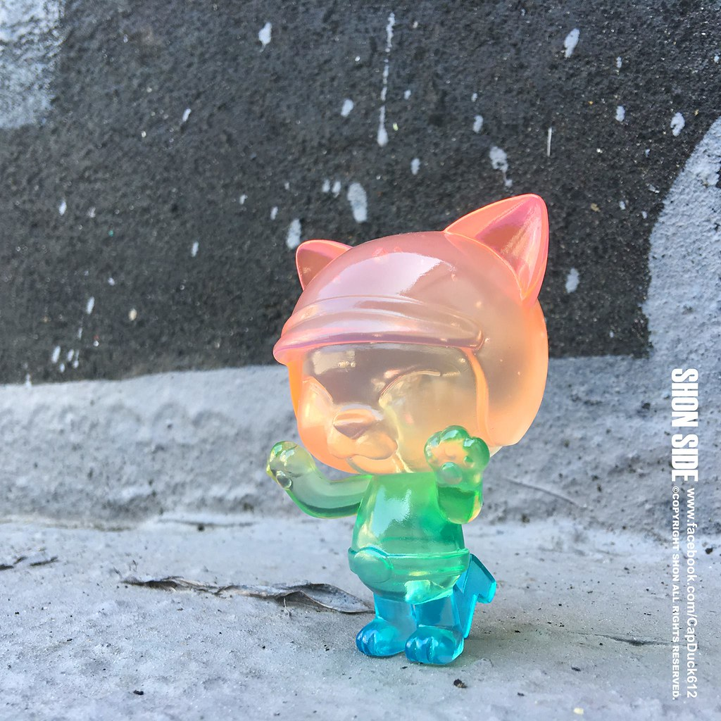 SHON SIDE – CAT RIDER 系列【彩虹。貓騎士】Rainbow Cat Rider 台灣文博會搶先販售