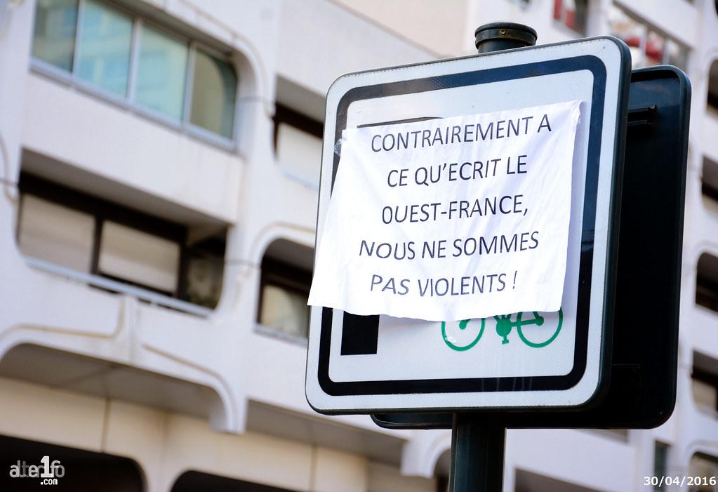 [30 Avril 2016] - Un jour, une photo... Post-scriptum pour Ouest-France...