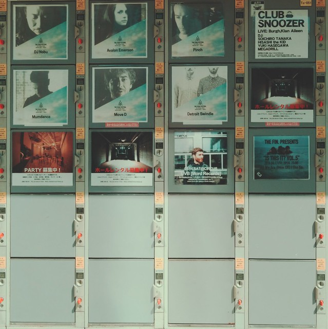 Coin-operated lockers