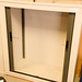 2 door grey tambour unit