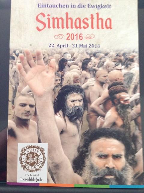 Simhasth 2016 Broschüre vom Madhya Pradesh-Tourismusbüro. - Simhasth 2016 Broschüre by Madhya Pradesh Tourism board