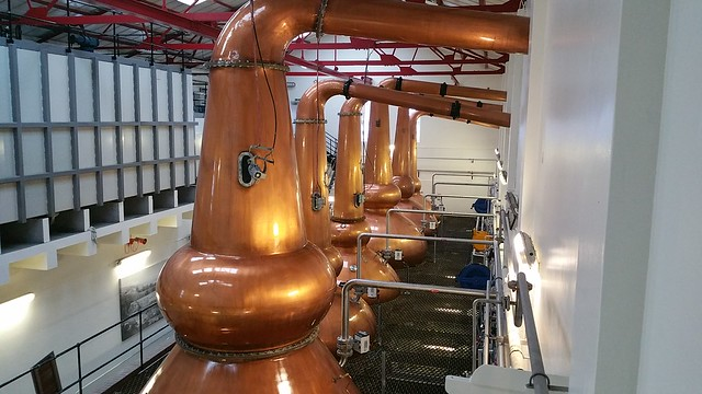 Newly lacquered Stills at Mortlach Distillery [Explore 26/04/16]