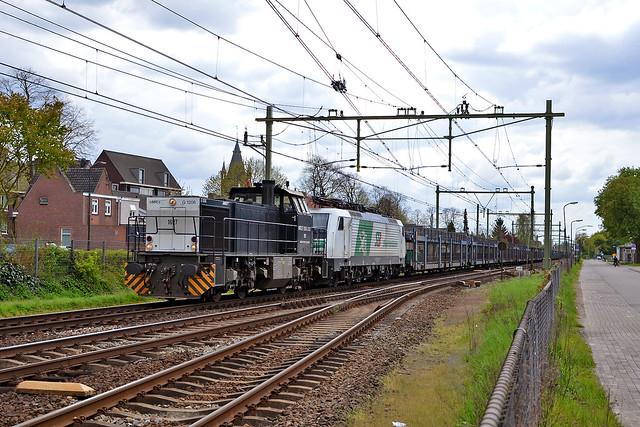 TS 106 + STB E189 822 Oisterwijk 30 april 2016