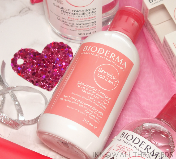 Bioderma Sensibio 3-in-1 one step cleansing milk