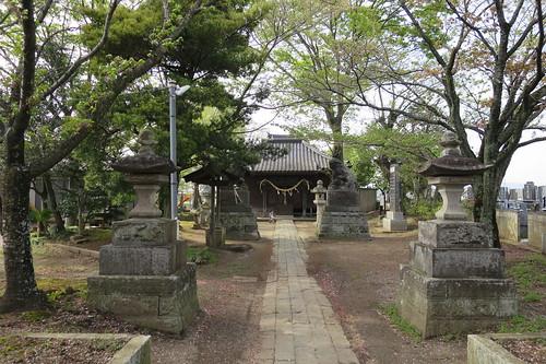 土浦市田中町の八幡神社