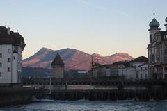 Sunset alps