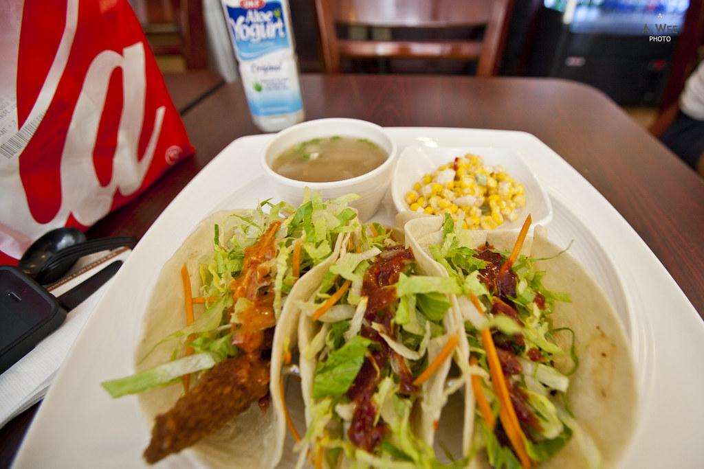 Korean fusion tacos