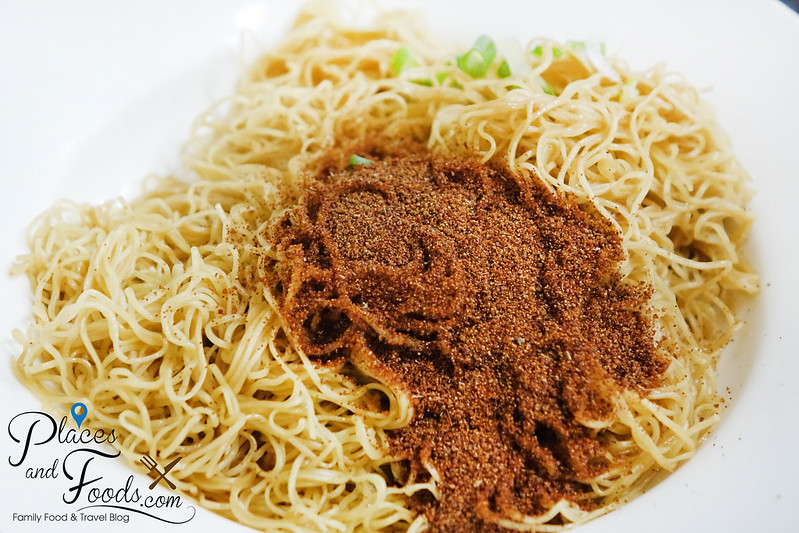wong chi kei braised noodle with shrimp roe