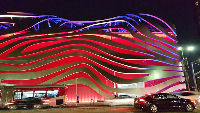 New Petersen Auto Museum Exterior