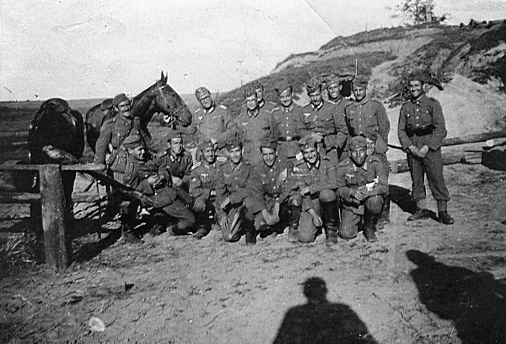 fotos de Domingo Rodríguez Romera DIVISION AZUL albaceteños frente ruso 1941