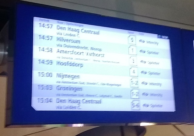 train amsterdam to groningen
