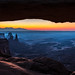 Mesa Arch Sunrise by Daniel.Peter
