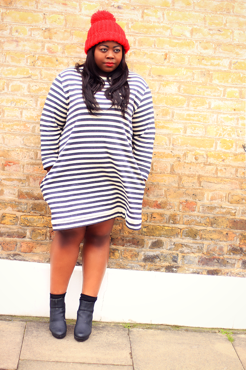 ASOS Curve Striped Dress 5