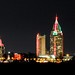 Mobile Skyline (Christmas) from 5 Rivers' Deck by neonflamingos