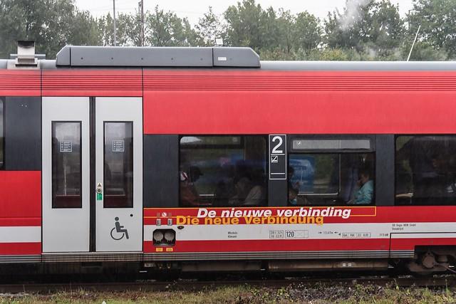 03.09.2006 Osnabrück Hbf Bahnhofsfest. DB 643 575