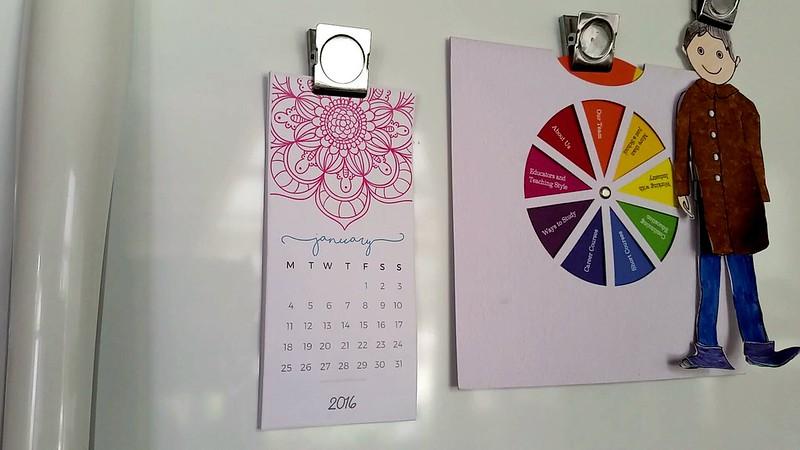 Mini Calendar free printable
