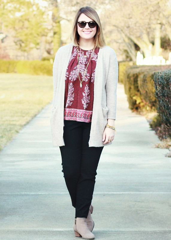 Madewell Floral Top 7