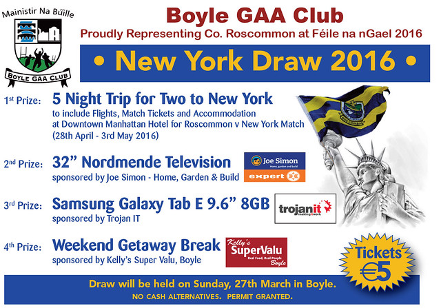 Boyle GAA Club Draw