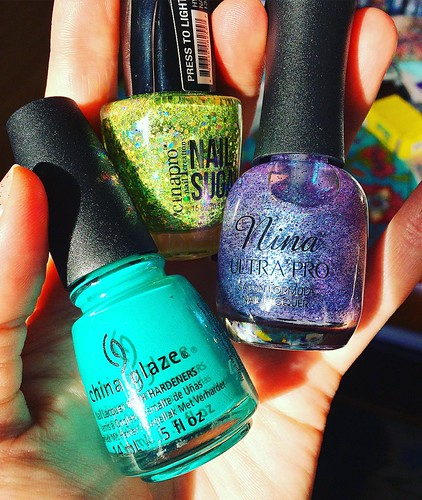 Some new colors to play with. You can never have too many nail polish colors.