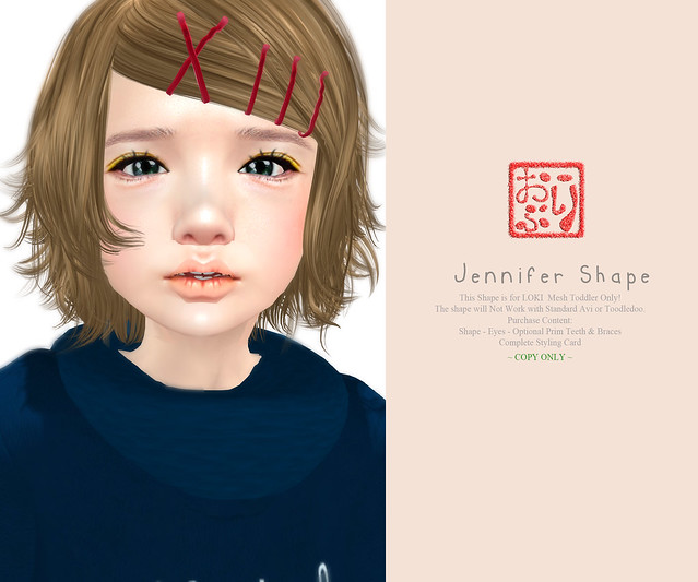 Jennifer Shape - for Loki Mesh Toddler
