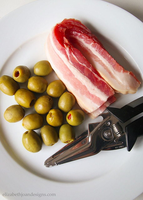 Bacon Olives Ingredients