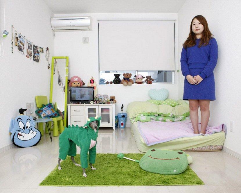 世界各地年輕女性的房間8