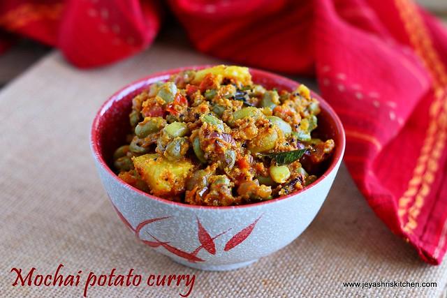 mochai potato curry