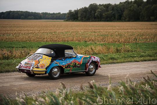 1964 Porsche 356 C 1600 SC Cabriolet1