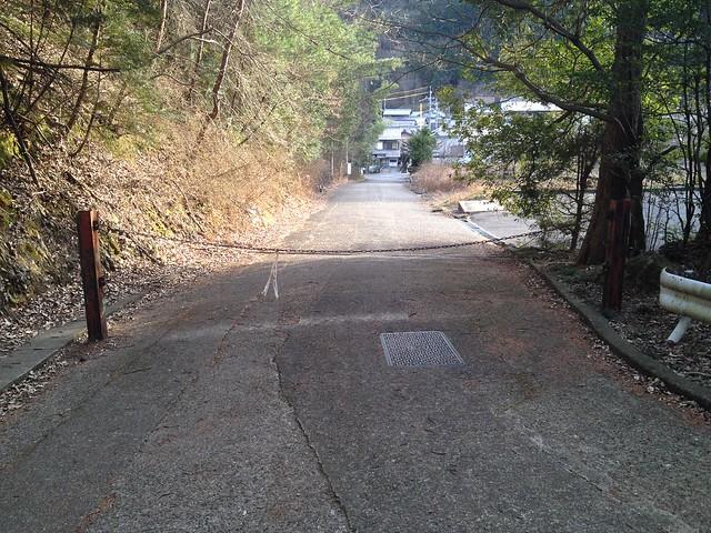 眉山 林道ゲート