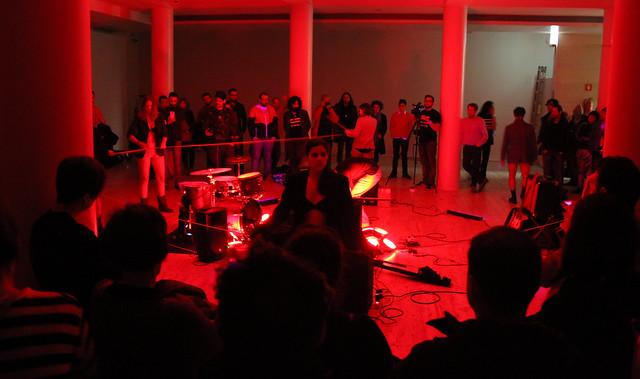 TESLA FESTIVAL DE EXPERIMENTACIÓN SONORA Y VISUAL 2016 - MUSEO DE LEÓN - dUAS sEMIcOLCHEIAS iNVERTIDAS - 20.02.16