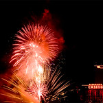 """Rockets Over the River"""" show at the Laughlin"""