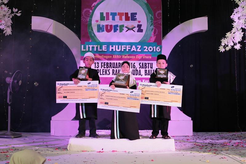 Gambar Pemenang Hafazan Cilik Little Hufaz Zon Utara