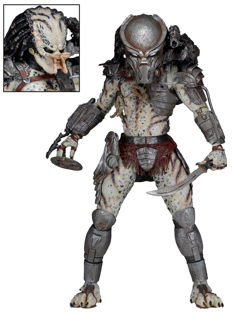NECA 第十六彈終極戰士【Kenner 復古系列】Predator 7 吋人偶作品