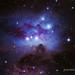 NGC1977/75/73 - Running Man Nebula