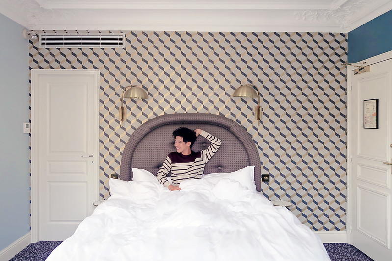Grand Pigalle Hotel Bed - Typicalben