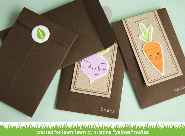Pack of seeds gift envelopes 2