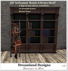 DD Animated  Rustic Library Shelf_001ab