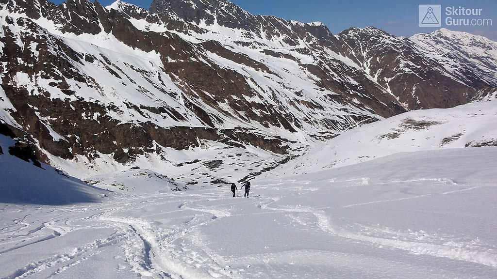 Kraulscharte Stubaiské Alpy Österreich foto 05