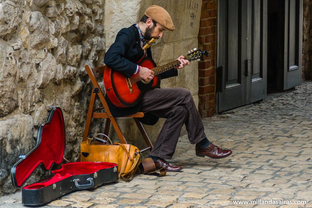 Música en la puerta Florian
