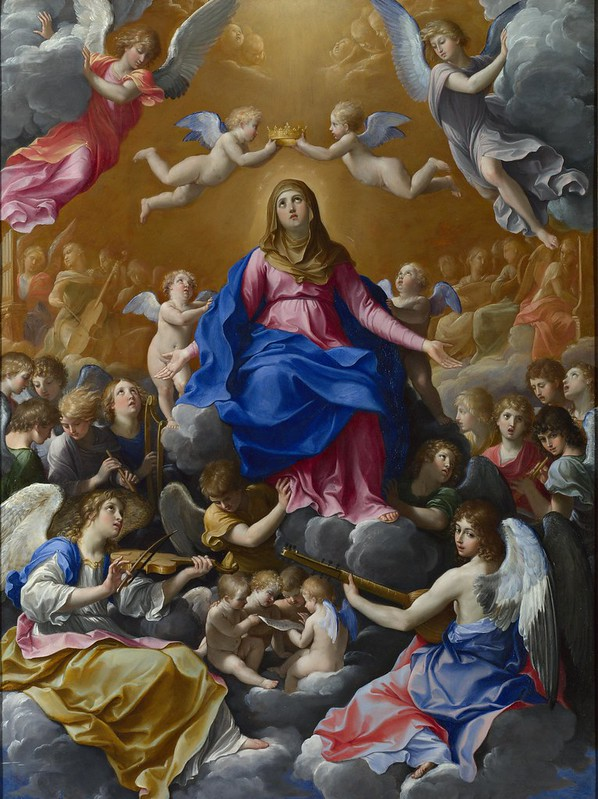 Guido Reni - The Coronation of the Virgin (c.1607)