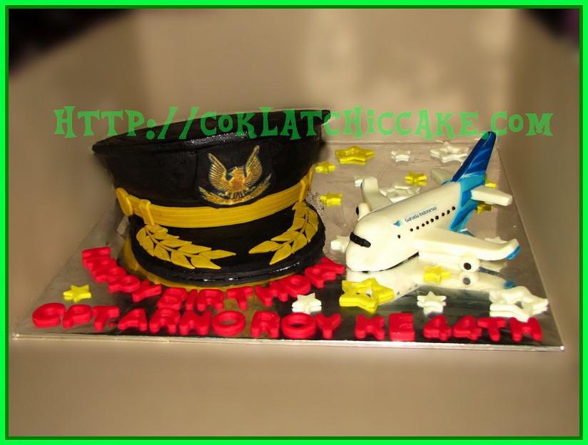 Cake Pilot dan Cake Pesawat