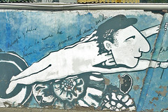Santiago - Wall art near La Chascona