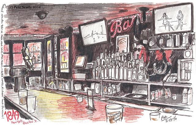 NYC 1849 bar