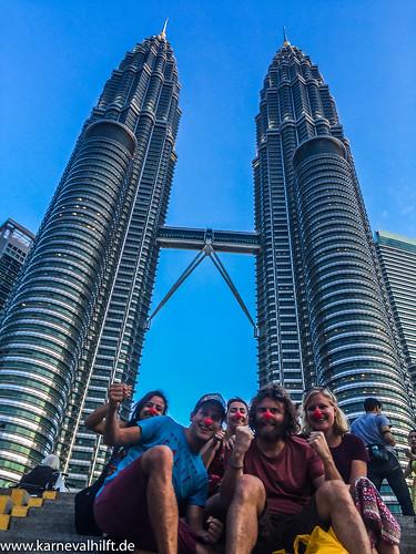 Zwei Türme, Fünf Jecke - Kuala Lumpur