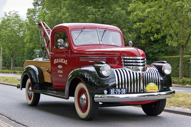 Chevrolet Tow Truck 1941 (6385)