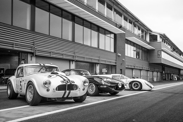 AC Cobra, Jaguar E-type, Lola T70 Line-up
