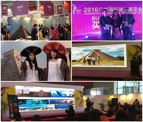 Exitosa participación de México en la Feria Internacional de Turismo de Guangzhou 2016